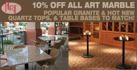 10% off all Art Marble!