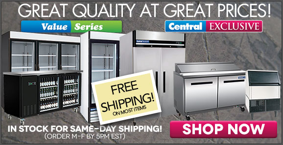 Great quality at great prices on Central Exclusive and Value Series!
