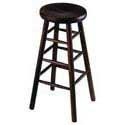 Backless Bar Stools - Wood