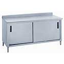 Enclosed Kitchen Work Tables