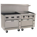 "60"" Commercial Gas Ranges with 36"" Griddle"