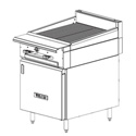 "12""-24"" Commercial Gas Ranges - Heavy Duty"