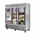 Glass Door Refrigerators - Three Doors