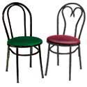 Hairpin and Heart Back Chairs