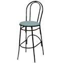 Heart and Hairpin Back Bar Stools