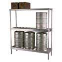 Keg Stackers and Shelving
