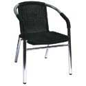 Outdoor Restaurant Chairs - Metal Frame