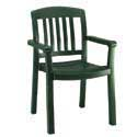 Outdoor Restaurant Chairs - Plastic