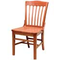 Slat Back Wood Chairs