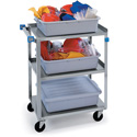 Extreme Duty Utility Carts - Stainless Steel
