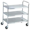 Medium Duty Utility Carts - Stainless Steel