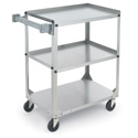 Standard Duty Utility Carts - Stainless Steel