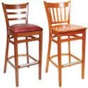 Restaurant Bar Stools Wood