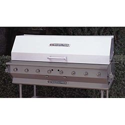 Bakers Pride 60 Roll Top Hood 60 W For Outdoor Gas