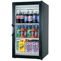 Small Display Refrigerator