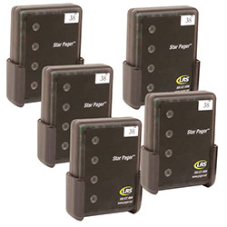 Long Range Systems Add Staff6 10 Set Of Five Server Pagers