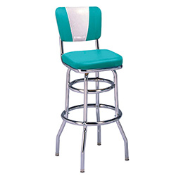 Vitro Seating Products 215 921v Diner Bar Stool With