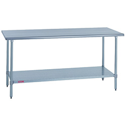 "Duke 418-3030 Kitchen Work Table 30""Wx30""Dx36""H, Stainless Steel Top"