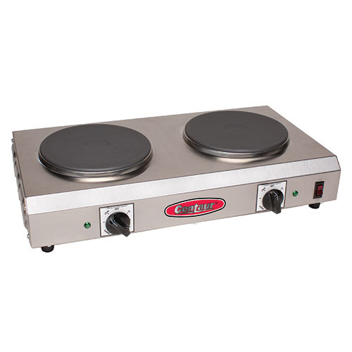 Countertop Stove Prices : Value Series CDR-2CEN Electric Countertop Range - Two 7-1/2
