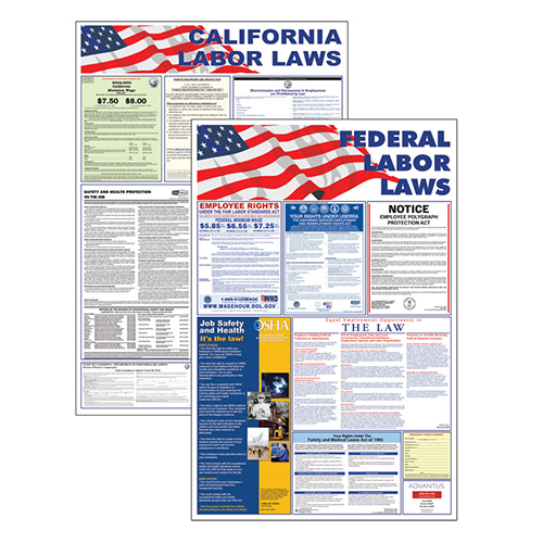 Labor law poster select your state