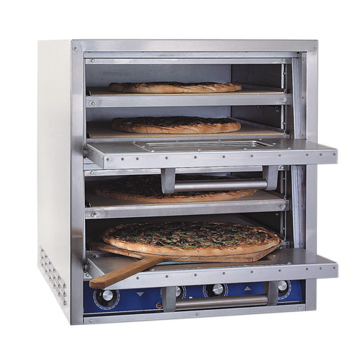 Best Commercial Countertop Pizza Oven : ... Pride P44S Bakers Pride P44S Countertop Electric Deck Pizza Oven