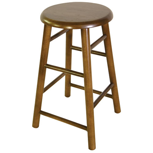Old Dominion 2704us 24 Backless Wood Bar Stool 24 Quot H