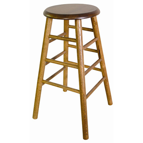 Old Dominion 2704us 30 Backless Wood Bar Stool 30 Quot H