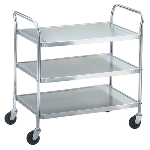 Vollrath 97106 kitchen utility cart 500 lb capacity for Kitchen utility cart