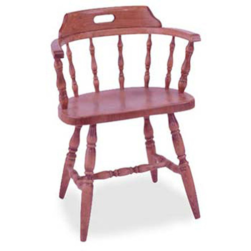 Wood Captain S Chair ~ Solid wood captains chairs pine wooden