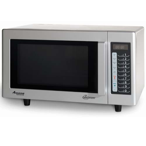 Amana rms10ts light duty microwave 20 programmable menu Microwave with stainless steel interior