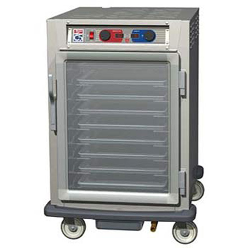 Metro c595 sfc u heated holding cabinet controlled for How to increase cabinet depth