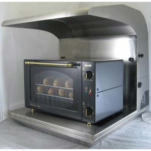 Equipex SAV-0 Countertop Equipment Ventilation System - For Ovens and ...