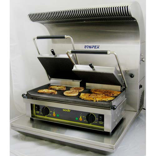 Equipex SAV-G Countertop Equipment Ventilation System - For Toasters ...
