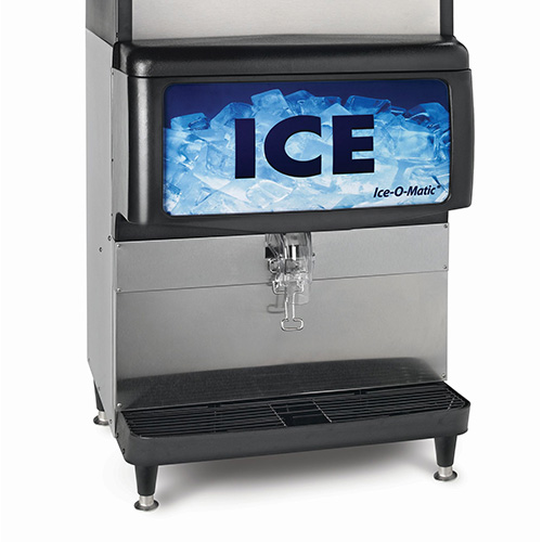 Ice-O-Matic IOD200 - Countertop Cube and Nugget Ice Dispenser
