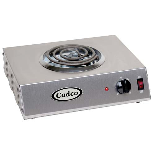 Cadco CSR3T Countertop Electric Range - (1) 8