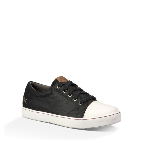 mozo 3839 bkw no slip shoes maverick canvas black white