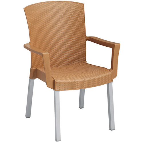 grosfillex us903002 havana outdoor arm chair resin stack chair