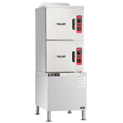 Vulcan Commercial Steamers ~ Vulcan c ga convection steamer with powersteam