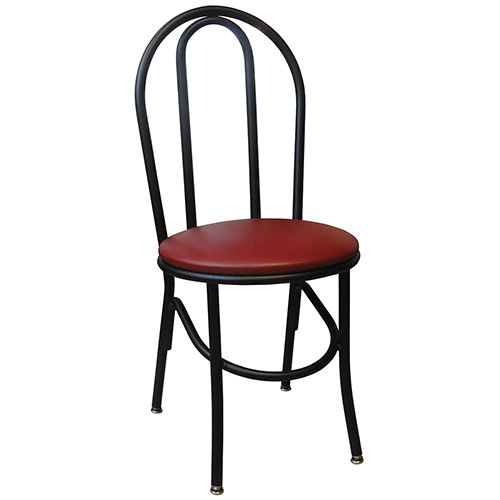 Vitro x 52 hairpin style chair 18 h seat for Hairpin cafe chair