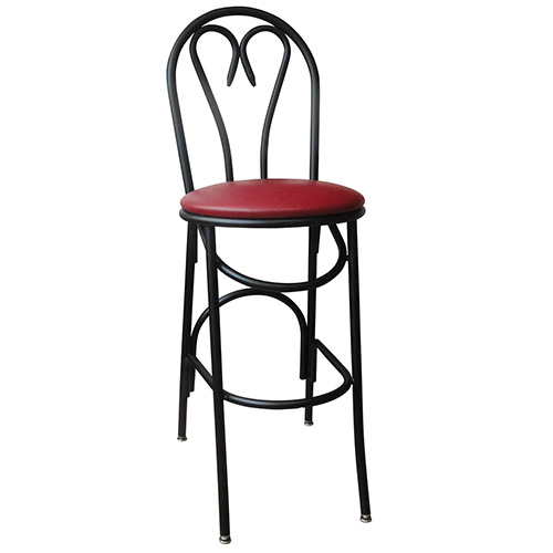 Vitro X 53bs Heart Style Bar Stool 30 Quot H Seat