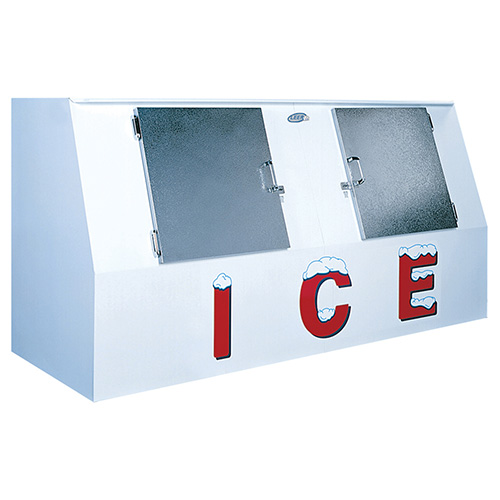 Leer Inc L612lasx Outdoor Ice Merchandiser Low Profile