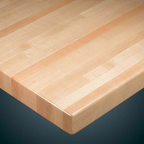 Wood Goods Industries 1060 Wood Goods 1060 Series Maple Wood Table Top 1 1 2 Butcherblock Top