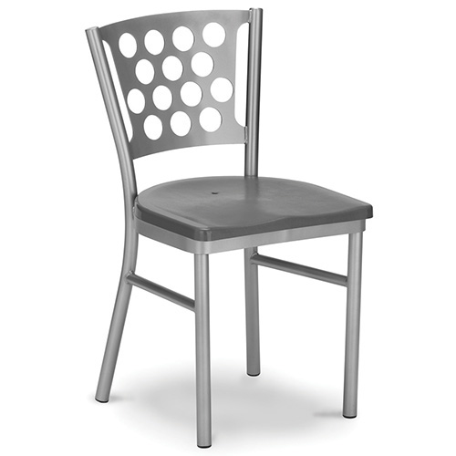 Plymold Outdoor Chair Circle Style 18 Wx18 D 18 Seat Height