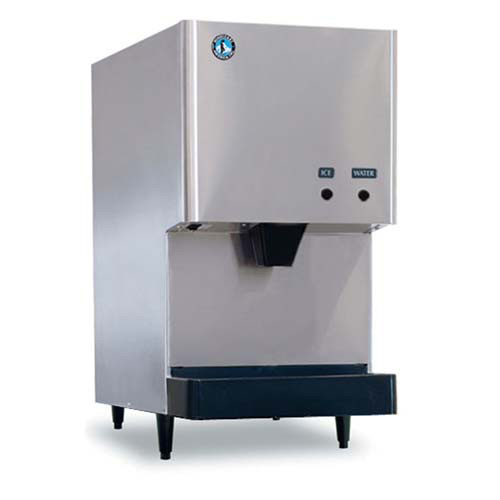 Ice Maker/Water Dispenser - 525 lbs. Production, Hands-Free Dispense ...