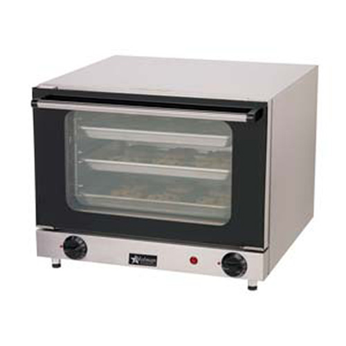 ... Electric Convection Oven - Countertop Holds 3 Fourth-Size Sheet Pans