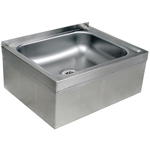 Mop Sink Stainless Steel : John Boos EMS-2016-12 Stainless Steel Mop Sink - 12