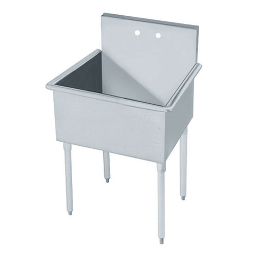Service Sink : Advance Tabco 4-81-18-2X 1 Compartment Economy Service Sink, 18
