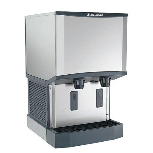 Scotsman Countertop Ice Maker : Scotsman HID525A-1 Meridian Countertop Ice Maker and Dispenser, 500 lb ...
