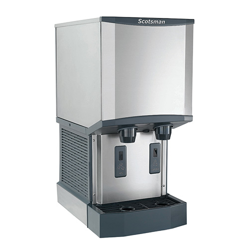 Scotsman Countertop Ice Maker : Scotsman HID312A-1 Meridian Countertop Ice Maker and Dispenser, 260 lb ...