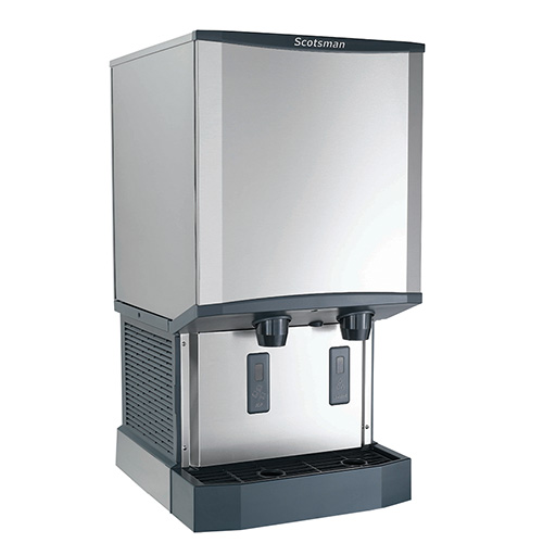 Scotsman Countertop Ice Maker : Scotsman HID540A-1 Meridian Countertop Ice Maker and Dispenser, 500 lb ...